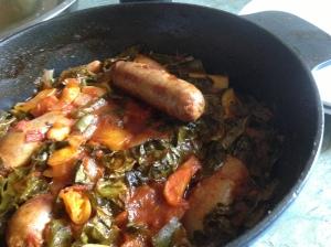 sausage casserole pot