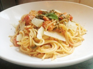 tomato and mascarpone pasta 2