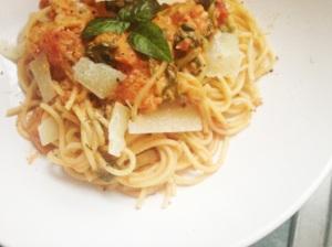 tomato and mascarpone pasta 3
