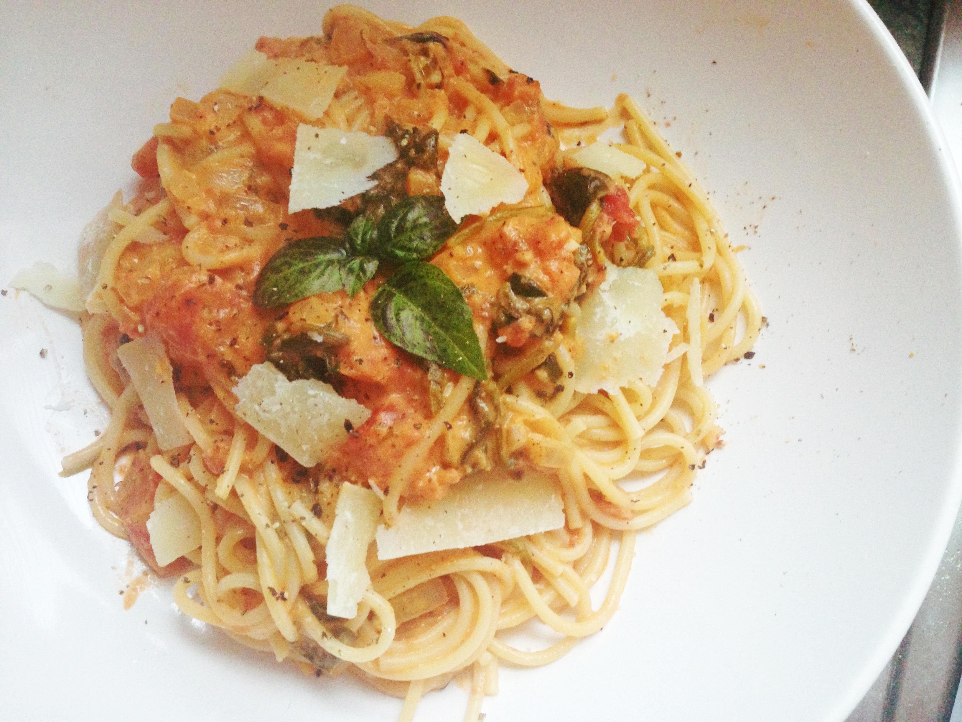 Pasta With A Saffron Mascarpone Sauce Recipes — Dishmaps