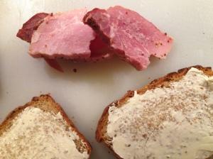 gammon sandwiches