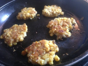 sweetcorn fritters 3
