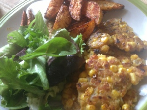 sweetcorn fritters 4