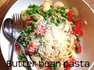 butter bean pasta