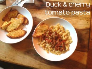 duck pasta header