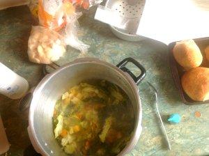 pressure cooker soup