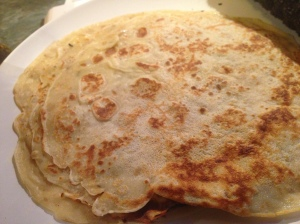 spiced vegetable pancakes 2