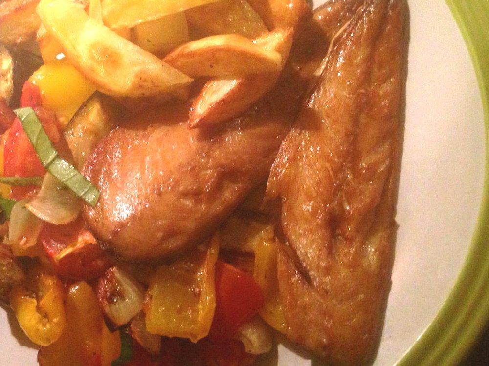 smoked mackerel ratatouille 2