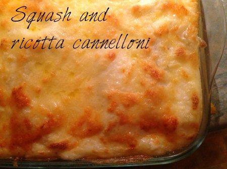 squash cannelloni