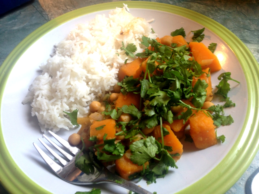 squash and chickpea tagine 2